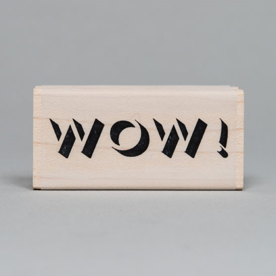 Wow! Rubber Stamp