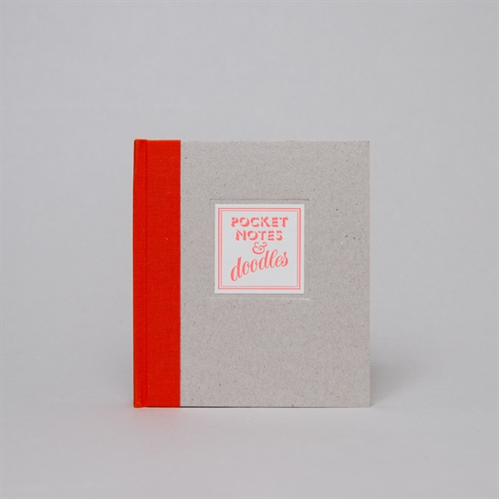 Pocket notes & doodles notebook