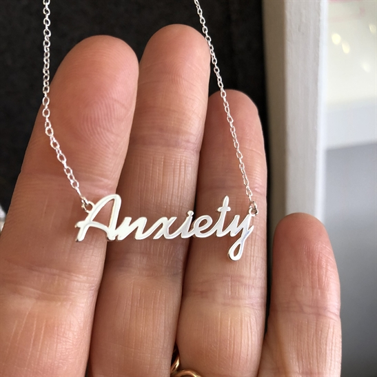 Silver Necklace - Anxiety