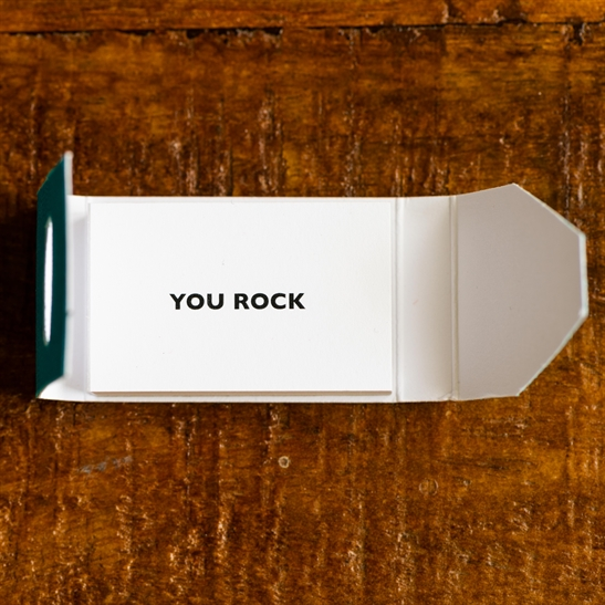 Mini Card Booklet - You Rock