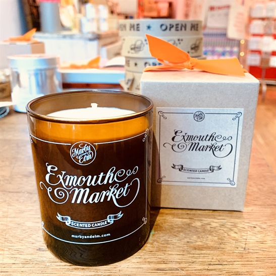 Exmouth Market Glass Candle