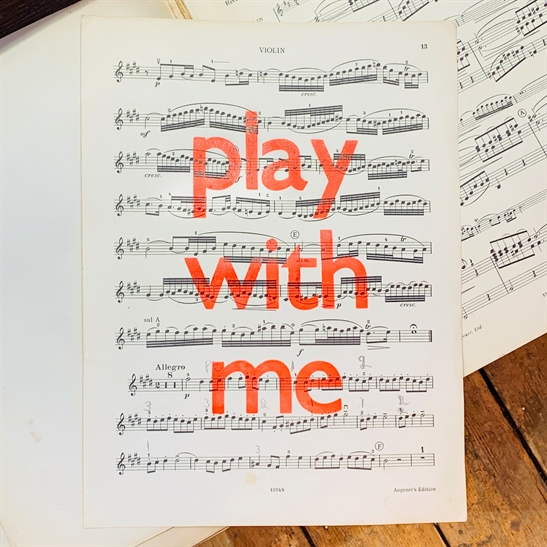 Play with me poster