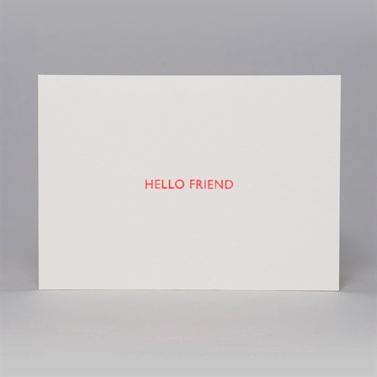 Hello Friend Notecards